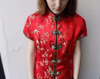 SALE!!! Chinese Vintage shirt/Chinese Blouse