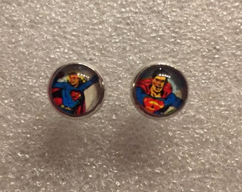 Studs Superman & Supergirl