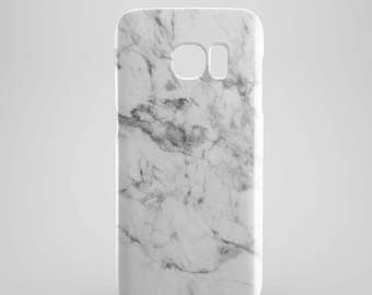 White Marble phone case for Samsung Galaxy S6, Samsung Galaxy S7, Samsung Galaxy S5, Samsung Galaxy s7 edge case, phone cases, phone cover
