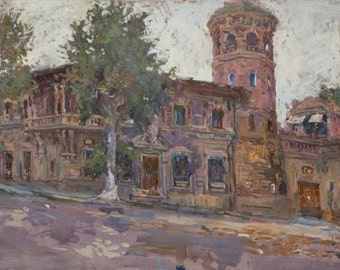 Florence,  19.6x34.6 inches