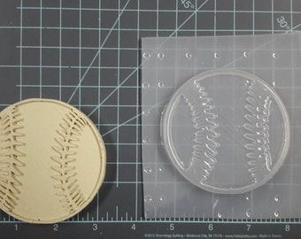 Baseball Plastic Mold or silicone mold, Resin Mold, ball Mold, clay mold, baseball mold, sport mold, ornament, soap mold, bath bomb mold