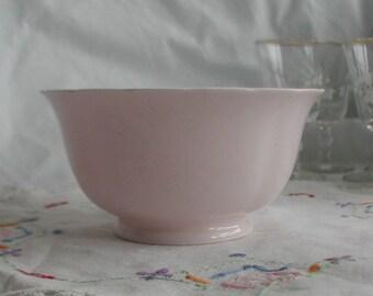 Baby Pink Tuscan Fine English Bone China Sugar Bowl