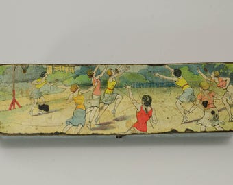 Flappers Playing Basketball Pencil Case