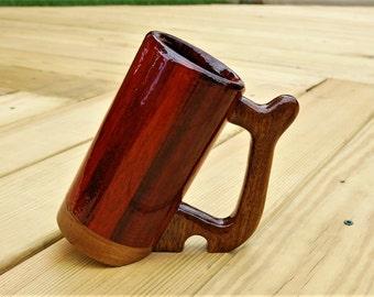 Wooden Mug - Tilted