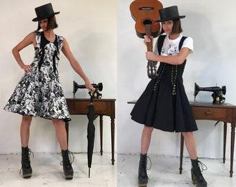 Star Wars Dress- Star Wars Cosplay Lolita Dress- Skater Dress- Comic Con Dress- K Pop Dress- Rouge One- Reversible- XS to Medium