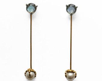 Bone Pearl Earring
