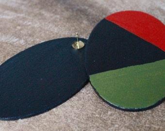Geometric studs (Hand painted)