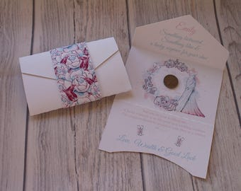 Wedding favour gift for the bride-A lucky sixpence for her shoe
