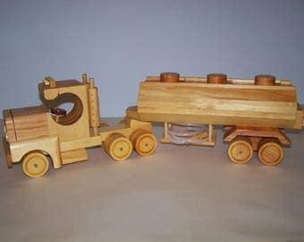 Tractor Trailer Tanker