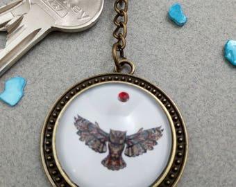 "Key fob ""OWL"""