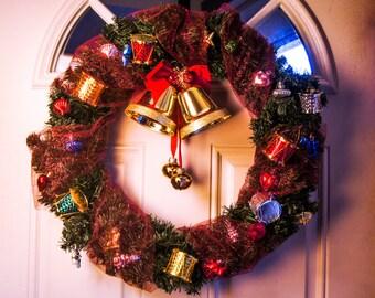 Christmas Wreath, Christmas Toy Wreath, Toys