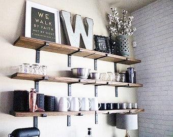 Fixer Upper Shelves Etsy