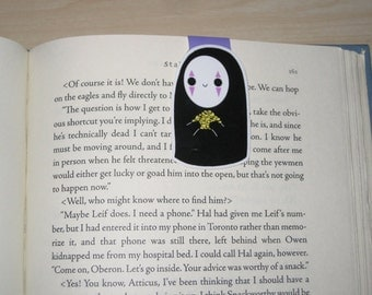 Magnetic Bookmark- No Face, Spirited Away