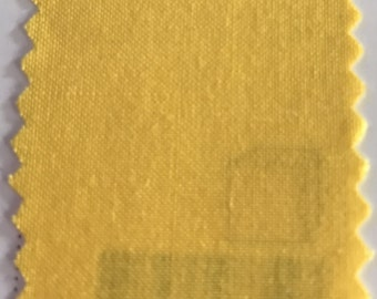 Bright Yellow Quilter's Homespun 100% Cotton Fabric 1/2m lengths