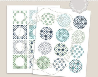 Adesivi per piastrelle etsy for Stickers adesivi per piastrelle