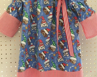 Christmas doggies size 4T