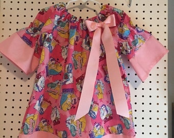 Beauty and the Beast, Belle, dress in sizes 3T or 4T, please indicate which size you need