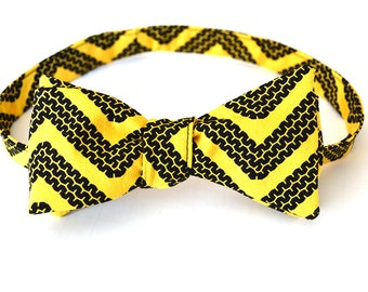 Mens Bow Tie, Car Enthusiast, Self Tie Bow Tie, Red Neck Tie, Bow Ties for Men, Novelty Bow Tie, Yellow Bow Tie, Yellow Bowties, Mens Bowtie