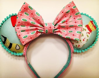 Dapper Day Minnie Mouse ears.
