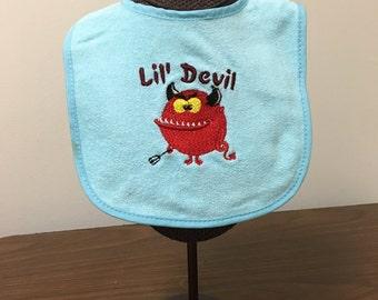 Lil Devil Bib for Boys and Girls