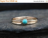 SPRING SALE Choose a gemstone ring - Set of staking skinny rings 14k gold filled, hammered. Thin ring, stacking ring. Birthstone ring