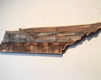 Small Reclaimed Tennessee Sign
