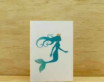 Mermaid Birthday Card