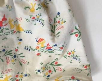 Skirt Rock Zwerg 92 98 104 Vintage Kinderkleidung rok 70er