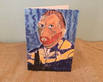 Van Gogh card