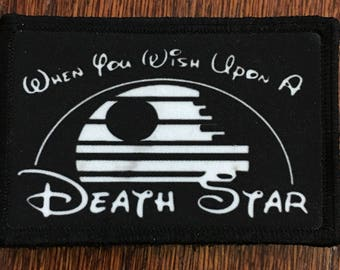 Star Wars Military/Morale Velcro Patches 5 Designs