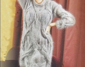 Kleid-knit dress - mohair knit tunic
