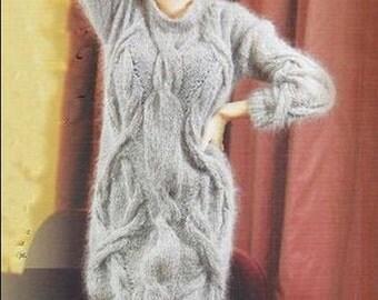 Kleid-knit dress - mohair knit tunic