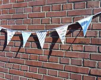 Cotton string lights/flags