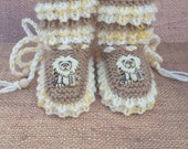 Lion, Elephant, baby Booties, gift for new niece gift for granddaughter gift for grandson gift for baby gift for soon to become mom, gift