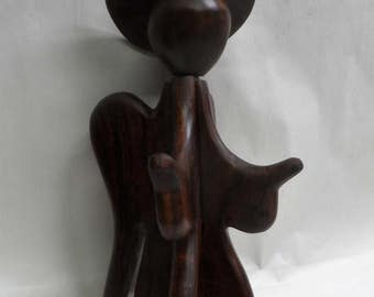 Angel Ironwood sculpture (#angliw10)
