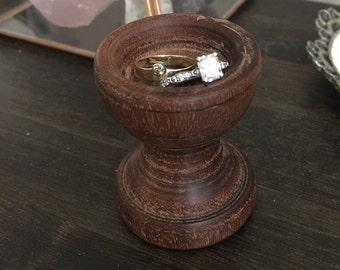Wooden Ring Dish