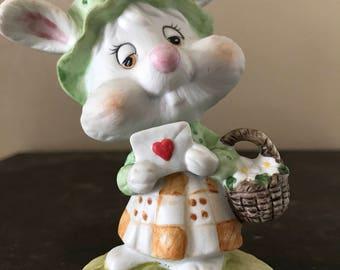 Lefton Vintage Easter Rabbit