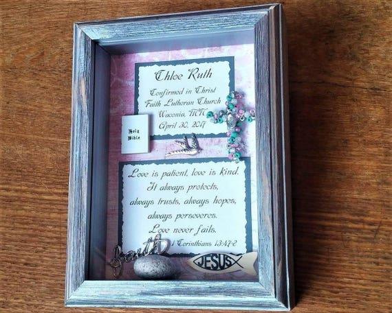 Baby Baptism Keepsake-Customized Confirmation Gift for