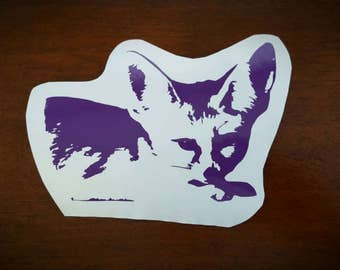 Vinyl Decal- Fennec Fox