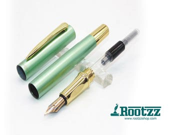 fountain pen frosty mint green/ turquoise