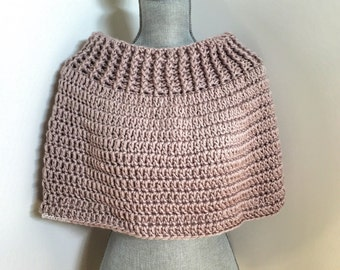 handcrafted crochet shoulder shrug