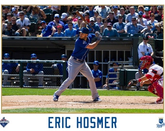 Eric Hosmer Kansas City Royals Canvas Wrap