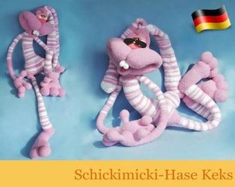 121DE Häkelanleitung - Schickimicki-Hase Keks Amigurumi PDF Pertseva Etsy