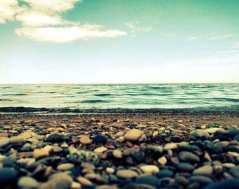 Nautical print - Lake photography - Seaside - Beach photography - Great Lakes