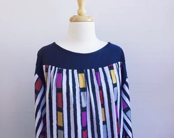 Vintage JH Collectibles Striped Dress.