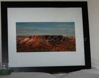 Limited Edition Print Artwork 'Moon Plain Hill'