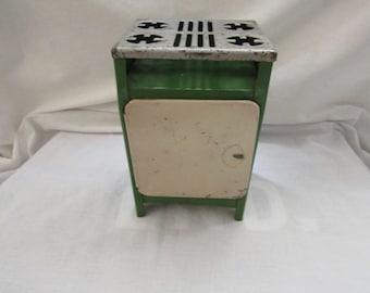 Vintage Tin Toy Oven ~ Miniature ~ Stove