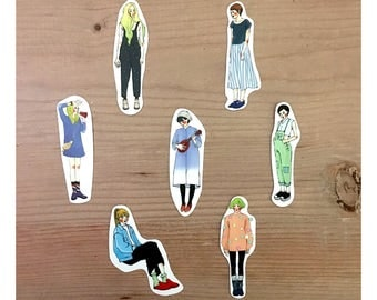 La Dolce Vita Personal Sticker - Simple girls 7