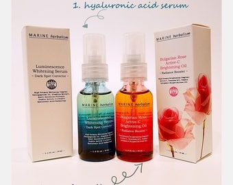 Duo Serums for Skin Brightening | Glowing Treatment