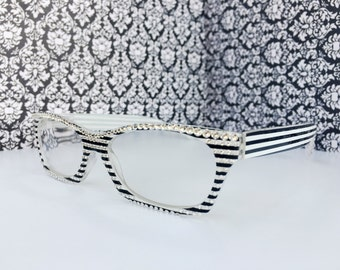 Reading Glasses Made with Authentic Swarovski Crystals +1.00  +2.00 +2.75